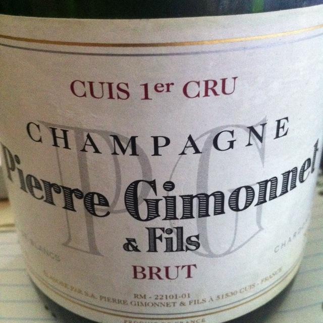 Brut Blanc de Blancs 1er Cru Champagne Chardonnay NV