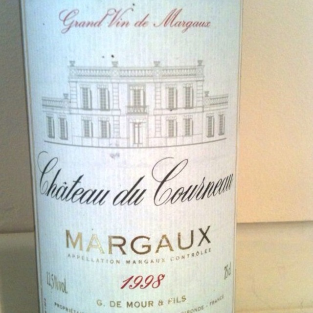Château du Courneau Margaux Red Bordeaux Blend 2015