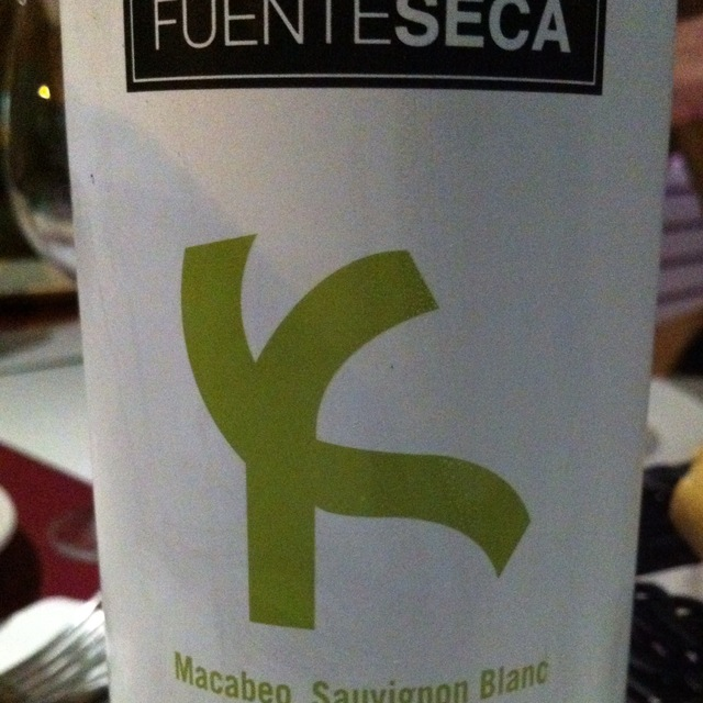 Fuenteseca Macabeo Sauvignon Blanc  2014 (3000ml)