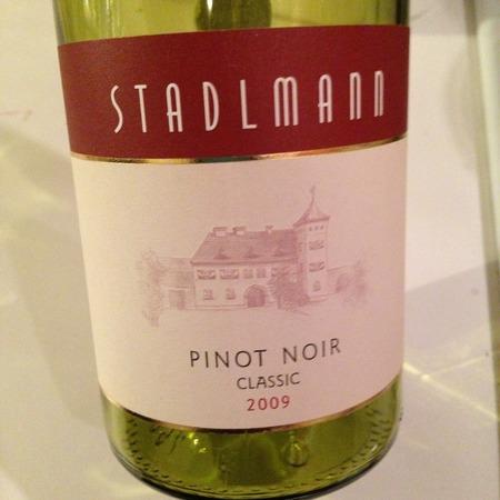 Stadlmann Classic Pinot Noir 2013