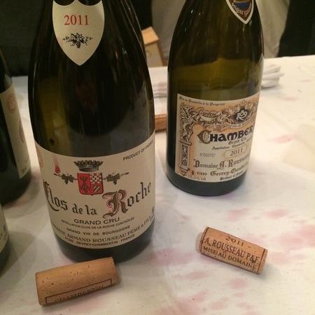 Domaine Armand Rousseau  Clos de la Roche Grand Cru Pinot Noir 2011