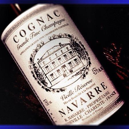 Navarre Vielle Réserve Grand Fine Champagne Cognac Ugni Blanc NV