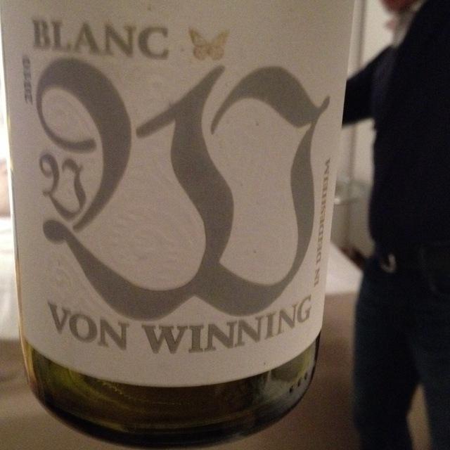 Von Winning Riesling Blend 2015