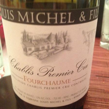 Domaine Louis Michel Fourchaume Chablis 1er Cru Chardonnay 2015