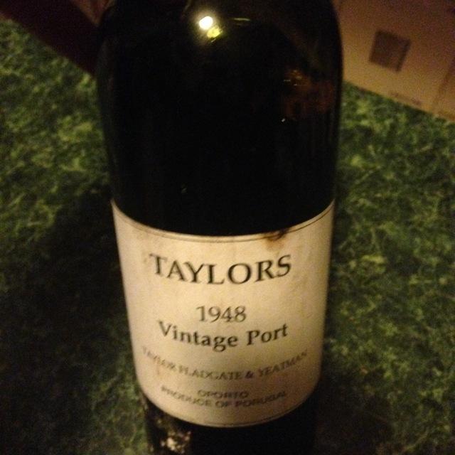 Taylor Fladgate Vintage Port Blend 1948