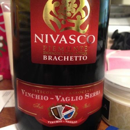 Vinchio-Vaglio Serra Nivasco Piemonte Brachetto 2015
