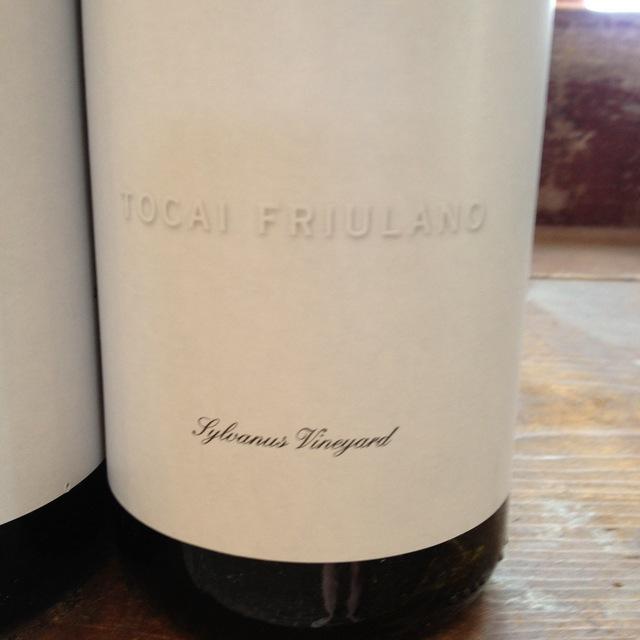 Channing Daughters Sylvanus Vineyard Tocai Friulano NV