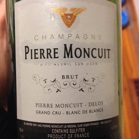 Pierre Moncuit Brut Blanc de Blancs Grand Cru Champagne Chardonnay NV (375ml)