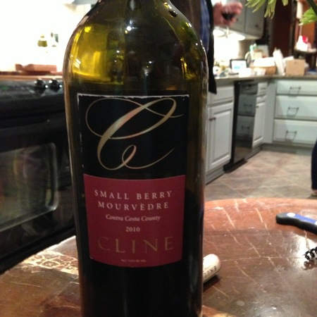 Cline Cellars Small Berry Vineyard Mourvèdre