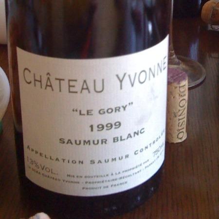 Château Yvonne Le Gory Saumur Chenin Blanc 2013