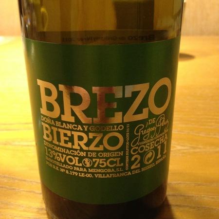 Brezo de Gregory Pérez Brezo Blanco Bierzo Godello Doña Blanco 2014