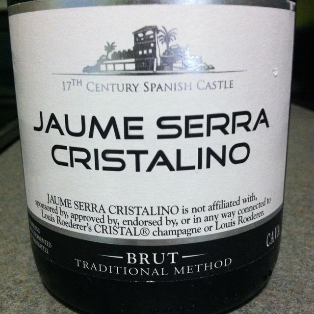 Jaume Serra (Garcia Carrion) Cristalino Brut Cava Macabeo-Xarel-lo-Parellada NV