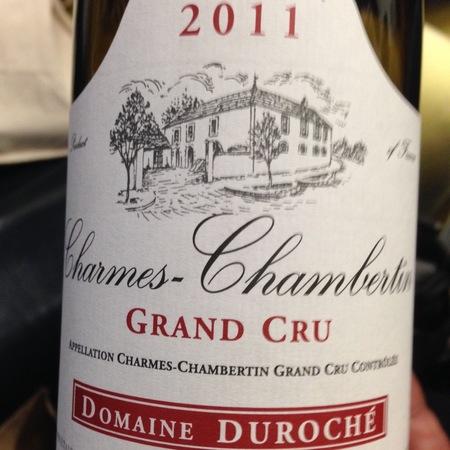 Domaine Duroche Charmes-Chambertin Grand Cru Pinot Noir 2015