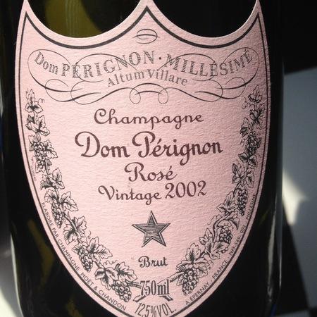 Dom Pérignon Brut Champagne Rosé 2002