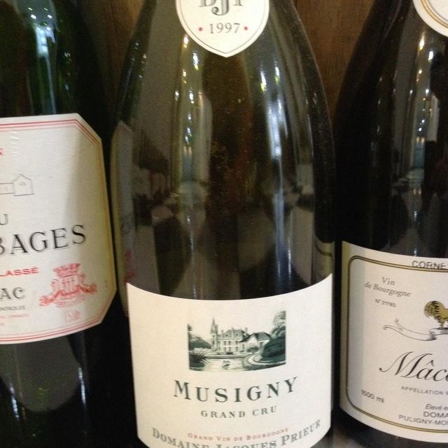 Musigny Grand Cru Pinot Noir 1997