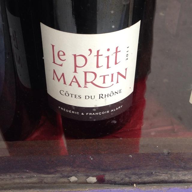 Le P'tit Martin Côtes du Rhône Red Rhône Blend 2014