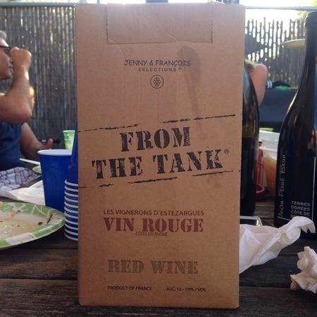Les Vignerons d'Estézargues From The Tank Collection Red Rhone Blend  2012