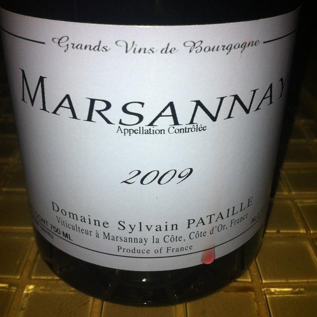 Marsannay Pinot Noir 2014