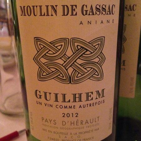 Daumas Gassac Guilhem Vin de Pays d'Hérault Sauvignon Blanc Grenache Blanc 2015