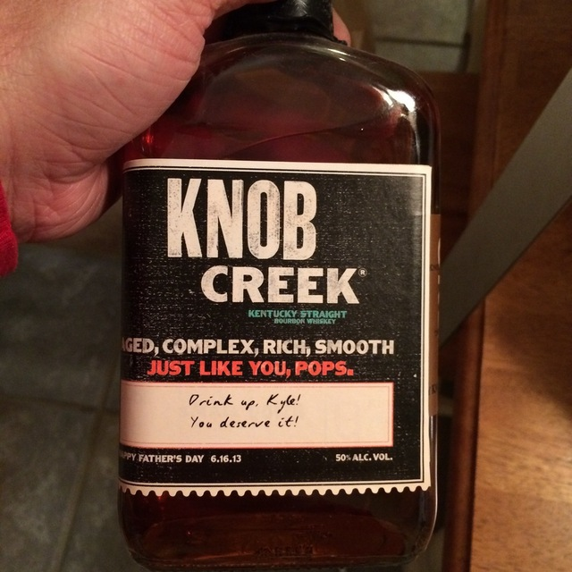 Father's Day Kentucky Straight Bourbon Whisky  NV
