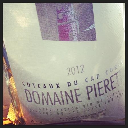 Domaine Pieretti Coteaux du Cap Corse Rosé Blend 2016