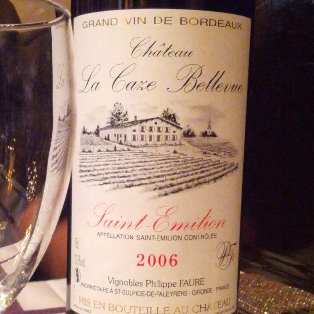 Saint Emilion Red Bordeaux Blend 2012