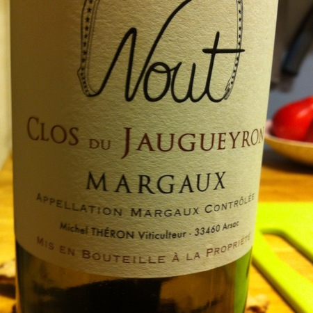 Clos du Jaugueyron Nout Margaux Red Bordeaux Blend 2013