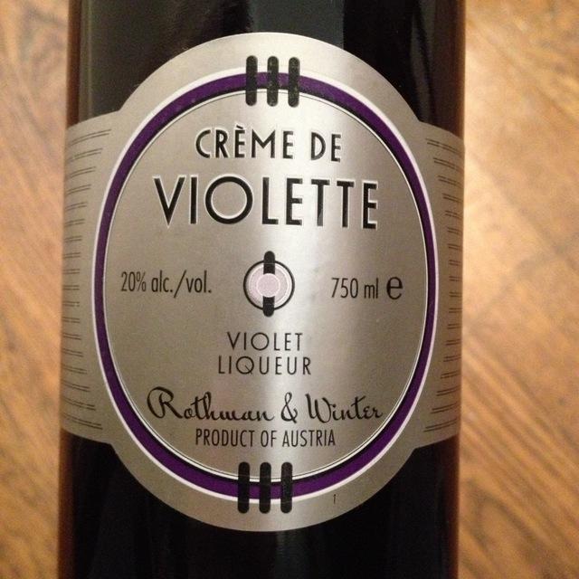 Rothwan & Winter Creme de Violette NV