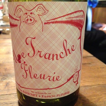 Philippe Jambon Une Tranche Fleurie Gamay 2015