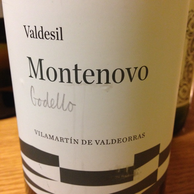 Bodegas Valdesil MonteNovo Valdeorras Godello 2014