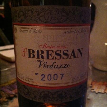 Bressan Friuli Verduzzo 2011