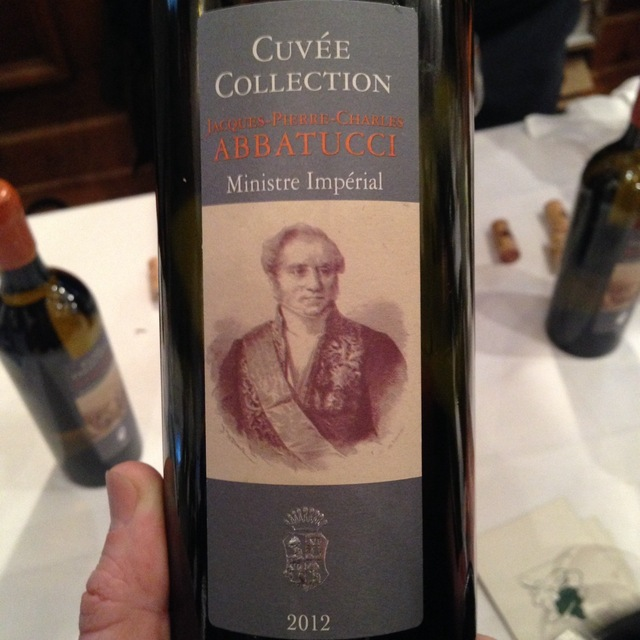 Cuvée Collection Ministre Imperial Red Blend 2012