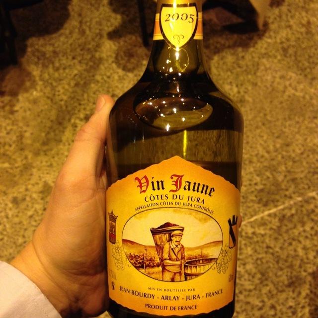 Vin Jaune Côtes du Jura Savagnin  2005