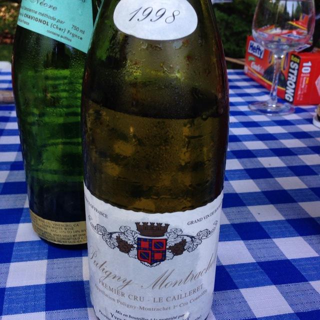 Le Cailleret Puligny-Montrachet 1er Cru Chardonnay 2001