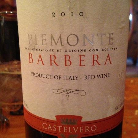 Castelvero Piemonte Barbera 2015