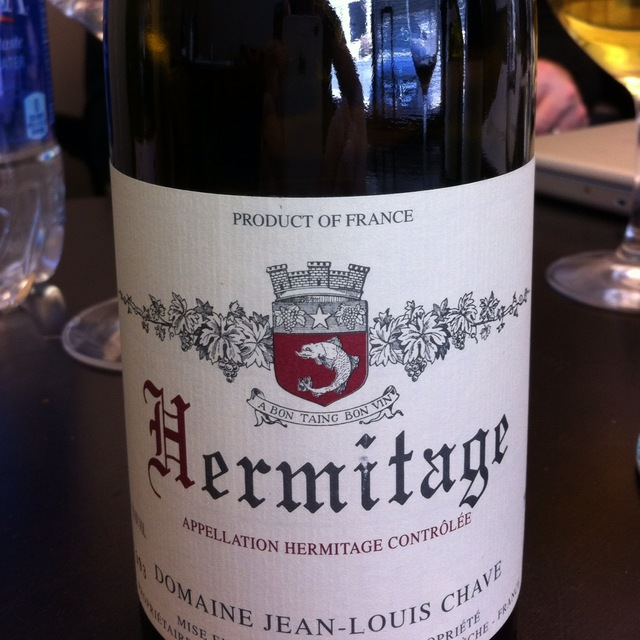 Domaine Jean-Louis Chave Hermitage Syrah 2015