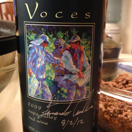 Voces Napa Valley Red Blend 2009