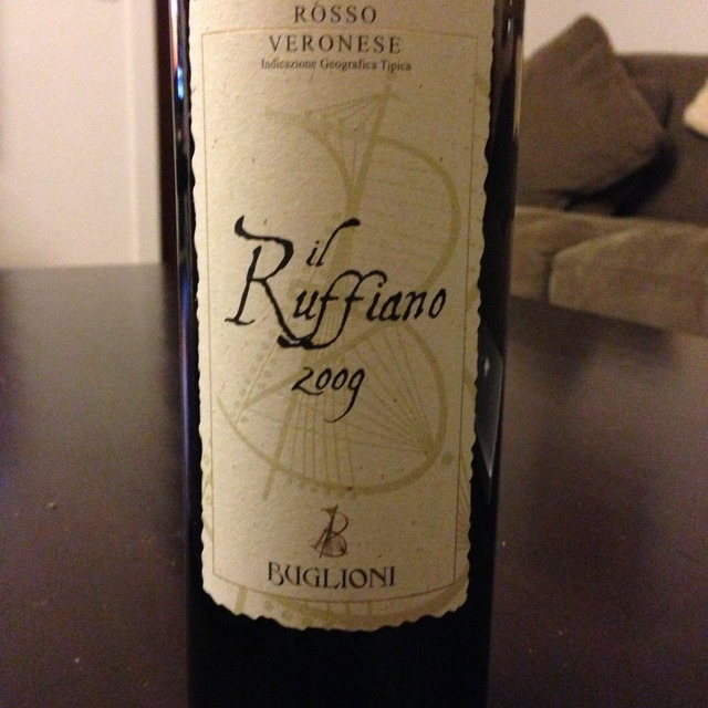 Cantine Buglioni Il Ruffiano Valpolicella Classico Superiore Corvina Blend 2013
