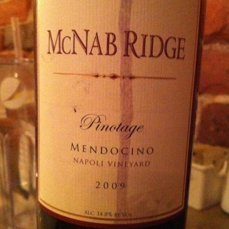 McNab Ridge Napoli Vineyard Pinotage 2014