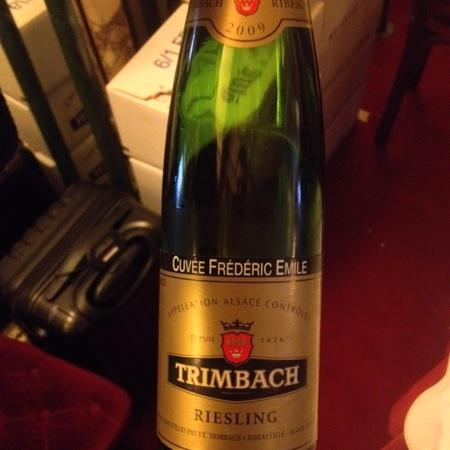 Trimbach Cuvée Frédéric Emile Alsace Riesling 2009