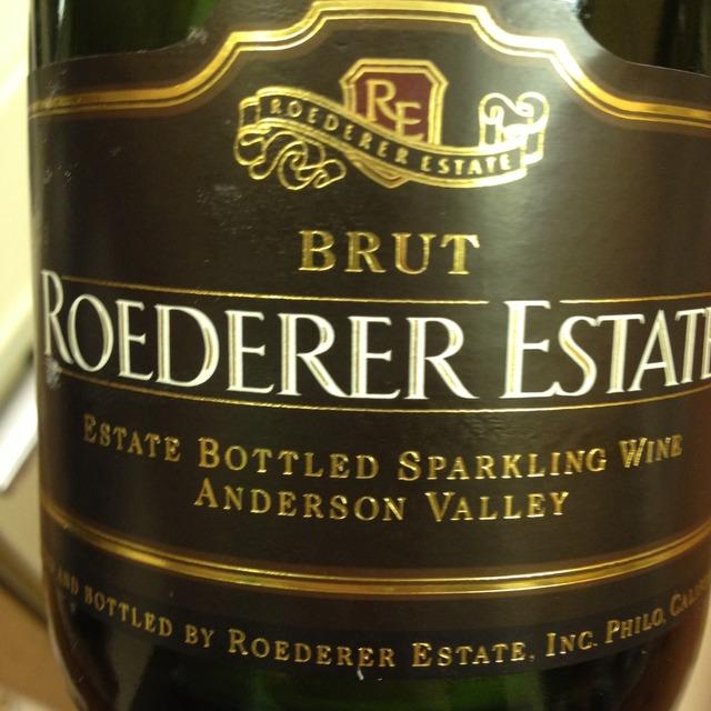 Roederer Estate Brut Anderson Valley Sparkling Pinot Noir Chardonnay NV (1500ml)