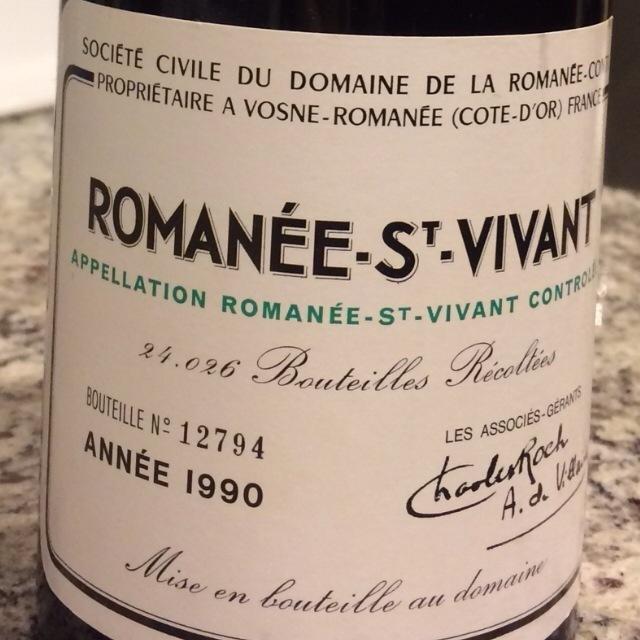 Romanée-St. Vivant Pinot Noir 2013