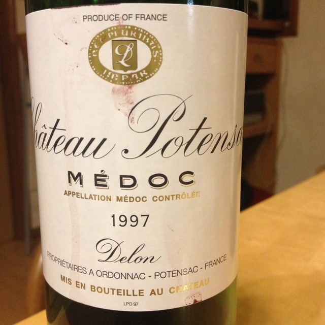 Médoc Red Bordeaux Blend 1997