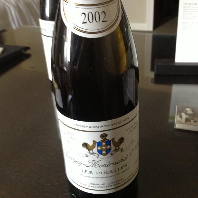 Les Pucelles Puligny-Montrachet 1er Cru Chardonnay 2002