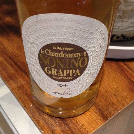 Artigianale Nonino Grappa Chardonnay NV