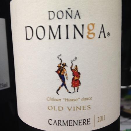Casa Silva Old Vines Doña Dominga Carmenere 2015