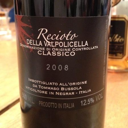 Tommaso Bussola Recioto della Valpolicella Classico Corvina Blend 2004 (500ml)
