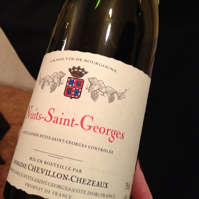 Nuits St. Georges Pinot Noir 2013
