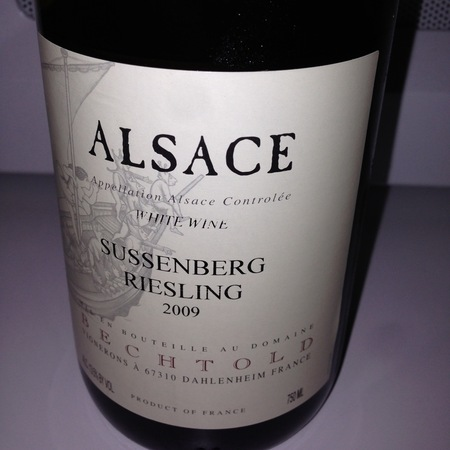 Domaine Bechtold Süssenberg Riesling 2009