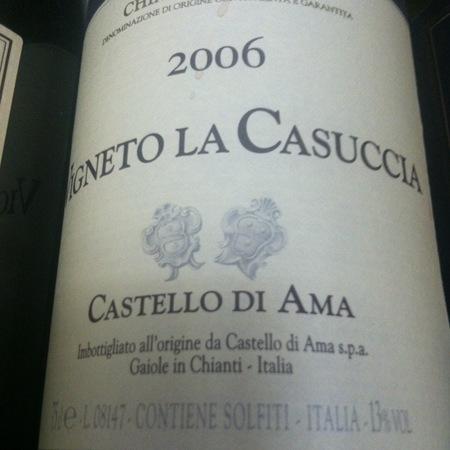 Castello di Ama Gran Selezione Vigneto La Casuccia Chianti Classico Sangiovese Blend 2013